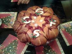 Pan brioche natalizio