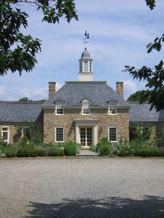 Central Virginia Estate. Johnson, Craven Gibson Architects, Charlottesville, Virginia