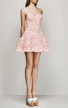 Leisa Lace Flip Mini by Alex Perry for Preorder on Moda Operandi (with the ombré fabric using Elie Saab top)