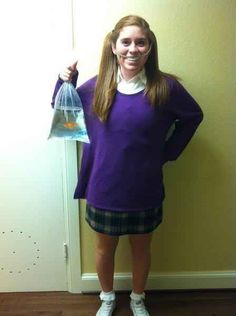 Darla from Finding Nemo | 31 Disney Costume Tutorials You Have To Try This Halloween