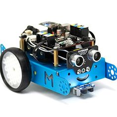 Makeblock mBot 1.0 Kit - STEM Education - Arduino - Scratch 2.0 - Programmable Robot Kit for Kids to Learn Coding, Robotics and Electronics (2.4G Version - School Prefer) -- Want to know more, visit