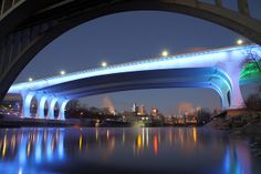 New Bridge Mississippi River, Minneapolis Feeling Minnesota, Minnesota Home, Minneapolis St Paul, Minneapolis Skyline, Down South, Photo Series, Twin Cities, Life Magazine, Amazing Photography