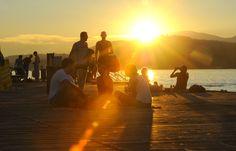 Sunset at Klagenfurt beach resort - lake Wörthersee. Photo: Helge Bauer Klagenfurt, Beach, Places, Summer, Life, Beautiful, Summer Time, The Beach, Verano