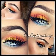 Sunset using the Take Me To Brazil Palette