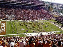 The University of Texas Longhorn Band! The Showband of the Southwest!
