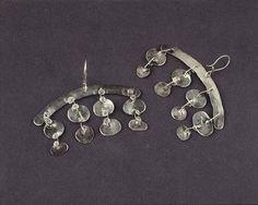 Alexander Calder Earrings, c.1940