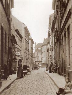 Berlin, Heinrich Zille, Cöllnische Gasse, um 1900.