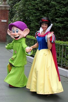 Snow White and Dopey