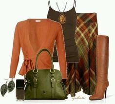 Modest fall outfit. Love the colors!