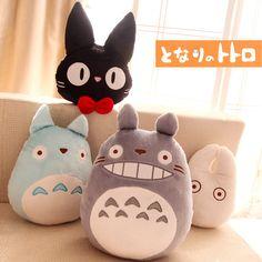 4pcs/set Miyazaki Hayao Anime My Neighbour Totoro/Kiki's Delivery Service kawaii plush doll cushion/Pillow toys free shipping-in Stuffed & Plush Animals from Toys & Hobbies on Aliexpress.com   Alibaba Group