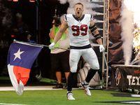 J.J. Watt, Texans honor those impacted by hurricanes - NFL.com