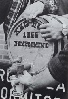 The Freshmen Keg 1967. From the 1968 Oregana (University of Oregon yearbook). www.CampusAttic.com
