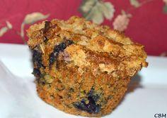 Muffins croquants au son et aux bleuets