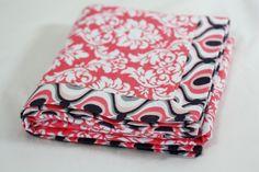 Sew Much Ado: Self Binding Receiving Blanket Tutorial