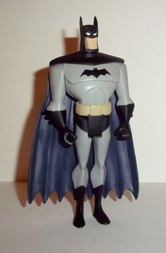 justice league unlimited BATMAN light grey suit black cape mattel jlu dc universe animated action figure for sale in online toy store to buy