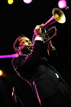 Roy Hargrove - acclaimed pure jazz trumpeter who gained prominence in the late 1980s.