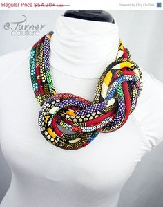 ON SALE Multicolored African Jewelry   African by ETurnerCouture
