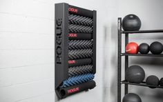 The Rogue Wall Mount Foam Roller Storage is a simple and space saving solution for garage gym and box owners who have multiple foam…