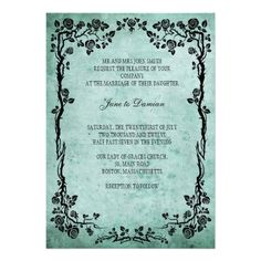 ReviewVintage Floral Wedding Invitation in Bluetoday price drop and special promotion. Get The best buy