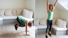 PT-Leila: Så tränar du igenom hela kroppen på bara tio minuter