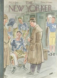 Leonard Dove : Cover art for The New Yorker 1393 - 27 October 1951