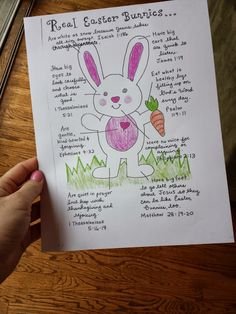Easter Bunny FHE. Lesson on how a bunny can symbolize how we can be better followers of Christ (with scripture references).
