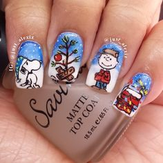 christmas by just_alexiz #nail #nails #nailart