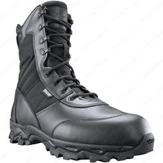 brand new bc084 562d1 Force Men s Black Tactical Boots - Work   Field Ops High Top Boots