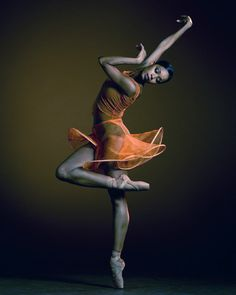 Aesha Ash is a member of Alonzo King's Lines Ballet, a San Francisco company -- amazing lines.
