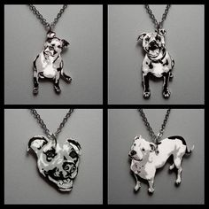 custom pibble necklace..