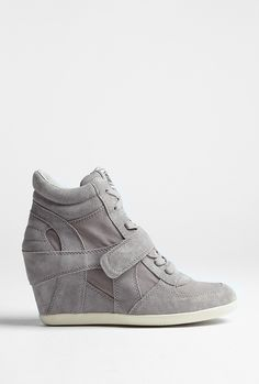 ASH GREY BOWIE WEDGE TRAINER - that's it im converted on the whole wedge trainer thing!