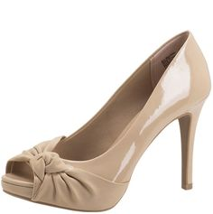 Knotted Nude Pumps