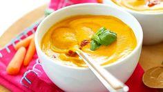 Aprende a hacer esta sopa thai de zanahoria, vegana y libre de gluten