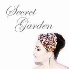 Secret Garden is a one of a kind piece which has been designed using Saraden Designs Handmade Fabric. This Saraden fabric is unique as it has a metallic quality to it. Each flower in this piece has been drawn out then cut and individually sculpted before being hand sewn onto the hat base. Sarah has spent dozens of hours sculpting this piece until she was satisfied with its outcome.