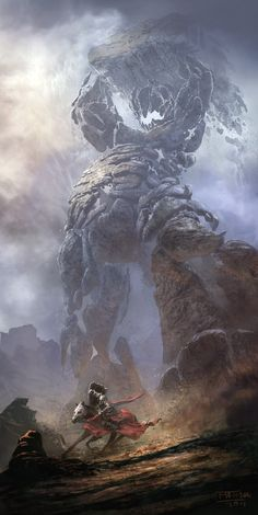 Telara's Stone Hulk by Matchack