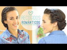 COMO HACER RECOGIDOS FÁCILES ESTILO ROMÁNTICO - YouTube