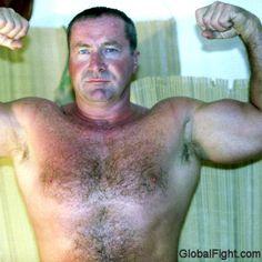 hairy bodybuilder hairytrails man