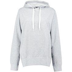 Boohoo Tall Elen Overhead Oversized Basic Hoody | Boohoo ($20) ❤ liked on Polyvore featuring tops, hoodies, jersey crop top, long sleeve jersey, long sleeve hoodies, high neck crop top and long sleeve tops