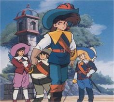 D'Artagnan e i moschettieri del re - 1987 Cartoon Stickers, Cartoon Toys, Funny Tv Series, The Three Musketeers, Mecha Anime, Old Anime, My Childhood Memories, Little Pony, Costumes