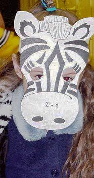 Z:  zebra mask
