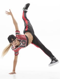 The Sparkle Jersey - a standout style for hip hop dance teams.