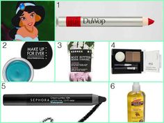 55 Beauty Products Inspired by Disney Princesses - Princess Jasmine from Aladdin