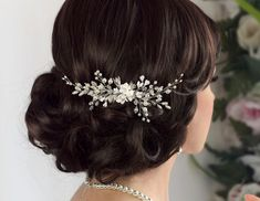Hey, I found this really awesome Etsy listing at https://www.etsy.com/listing/386590574/bridal-hair-comb-flower-hair-comb