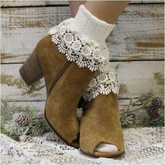 85ab566da7 ivory socks for booties - ivory boot socks, cute socks, fun socks, cuff