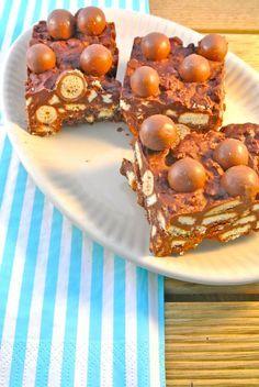 No bake malteser cake - Lekker en Simpel