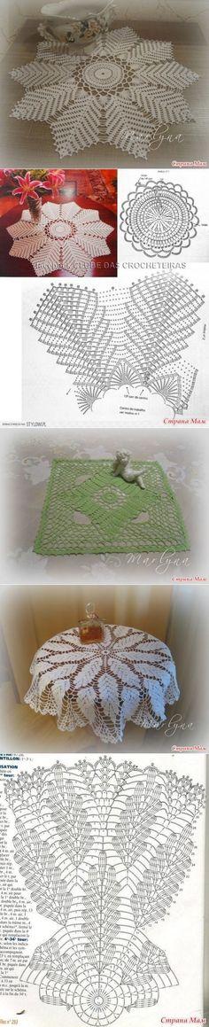 DIY - How to Make: Doll Joggers -Handmade - Clothes - Craft - - caravan Crochet Dollies, Crochet Diy, Crochet Mandala, Crochet Diagram, Crochet Stitches Patterns, Crochet Home, Thread Crochet, Irish Crochet, Crochet Designs