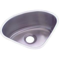 Elkay ELUH1111 Mystic Undermount Single Bowl Triangle Sink   PlumbersStock