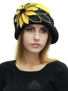 Шляпка Лолита - Женские шапки - Из кашемира