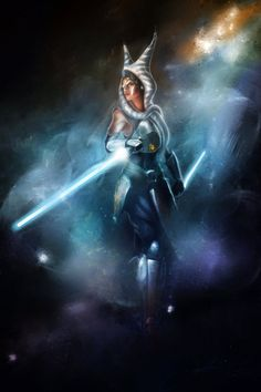 Ahsoka by Lotsmanoff on DeviantArt