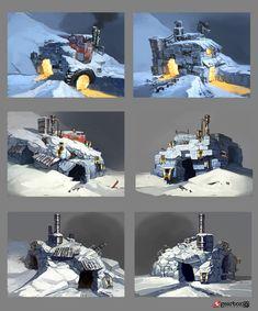 BL2 Claptrap Igloo 2 by Matias - Matias Tapia - CGHUB via PinCG.com